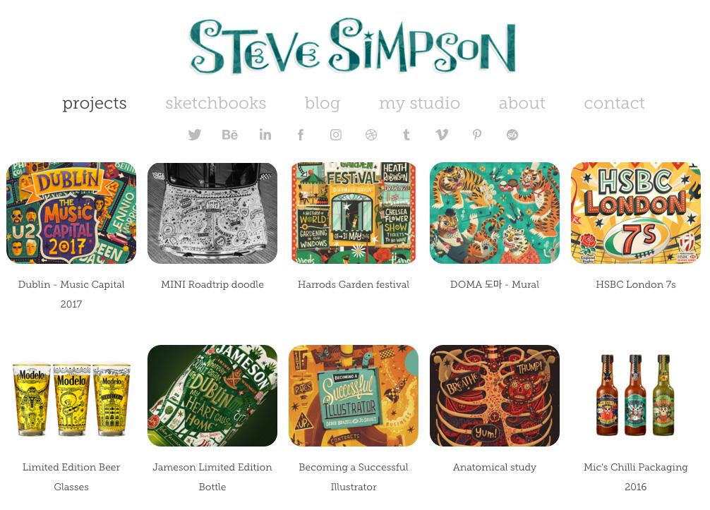 Steve Simpson ilustrador