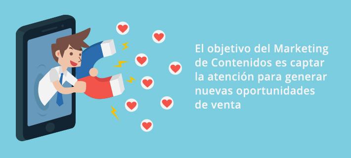 El Marketing de Contenidos es una técnica dirigida a captar nuevos usuarios a través de contenido textual