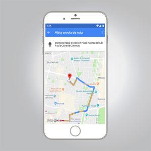 experiencia usuario maps