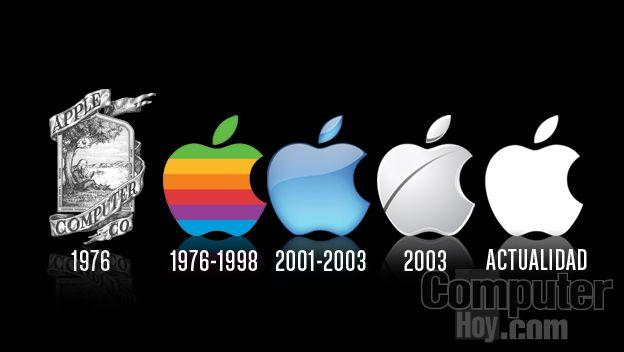 evolucion logo apple